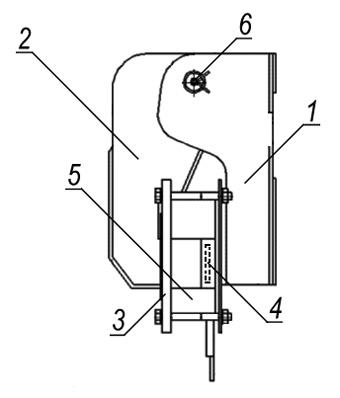 Конструкция электромагнита МО