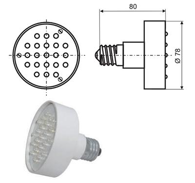 Лампа УПС-1А