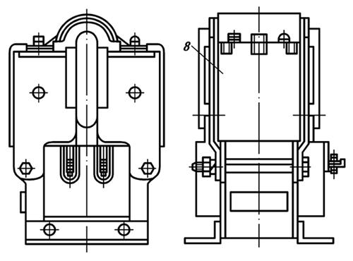 Конструкция электромагнита ЭМ33 со степенью защиты IP20